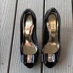 Coach Shoes - COACH open Toe Starla Heels